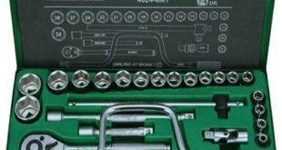 قیمت آچار بکس 24 عددی هنس مدل 6MT-4624